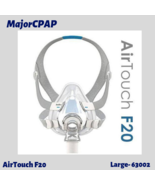 ResMed F20 AirTouch Full Face CPAP Mask Size Large 63002 w/ Headgear - $82.99
