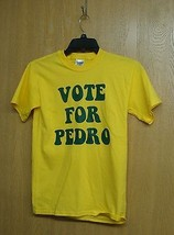 NEW MENS OR WOMENS SIZE LARGE VOTE FOR PEDRO NAPOLEON DYNAMITE T SHIRT CUTE - $1.99