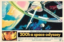 2001 A SPACE ODYSSEY  MOVIE POSTER  24x36 SHRINK WRAPPED  KUBRICK  - $21.00