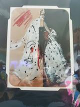 Disney Villain Cruella Deville Deluxe Matted Art Print 9x12 - $49.45