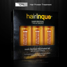 12% Brazilian Keratin 24K Gold Therapy Hair Protein Treatment Shampoo Care Set - $39.55