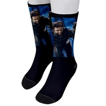 Men`s crew socks wolverine x-men logan - $26.00