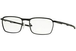 Oakley Occhiali Conduttore Nero Satinato W/Trasparente Demo Lenti OX3186... - $146.94