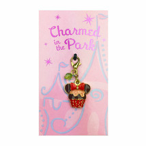 Disney Parks Charmed In The Park Minnie Mouse Cupcake Charm - $16.78
