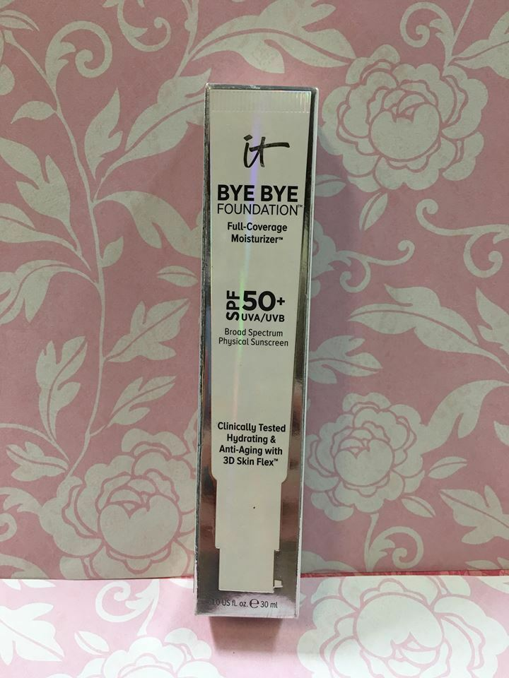 Primary image for it cosmetics Bye Bye Foundation Full-coverage Moisturizer SPF 50 PICK YOUR SHADE