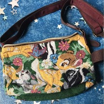 Tokyo Disney Resort Bambi Embroidery Shoulder Bag Pochette Pouch TDL Case - $68.31