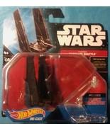 HOT WHEELS STAR WARS Starship KYLO REN'S COMMAND SHUTTLE - $1.97