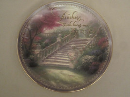 THOMAS KINKADE Collector Plate STAIRWAY TO PARADISE  Teachers touch lives - $19.96