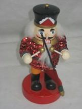 Mini Toy Soldier Nutcracker Drum Major Christmas Decor - $8.56