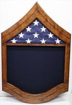 Air Force Senior Master Serg EAN T Wood Shadow Box Medal Display Case - $270.74