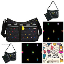 LeSportsac Mr Men Little Miss Happyland Deluxe Everyday Bag Free Ship NW... - $110.00