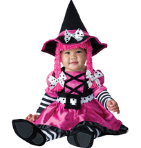 Pretty Pink Witch , Baby | Infant , GIRL'S 12 - 18 MONTHS , Free Shipping - ₨3,677.83 INR