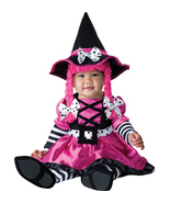 Pretty Pink Witch , Baby | Infant , GIRL'S 12 - 18 MONTHS , Free Shipping - $50.00