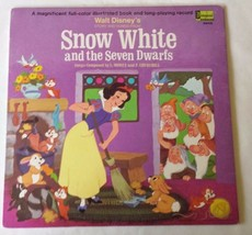 Snow White and the Seven Dwarfs 1969 LP Vinyl Record - $24.87
