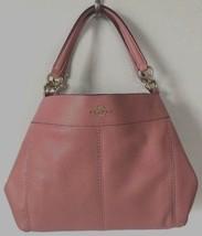 New Coach 28992 small Lexy Pebble Leather Shoulder Bag handbag Melon - $129.00