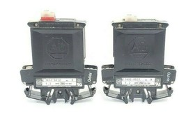 LOT OF 2 ALLEN BRADLEY 1492-G012 CIRCUIT BREAKERS 1.2AMP 1POLE 250VAC, SER. B