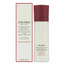 NIB Shiseido Complete Cleansing MicroFoam Cleanse + Remove 6oz SEALED - $29.65