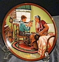 """The Ones We Love  """"The Inventor and the Judge"""" by Norman Rockwell AA20-CP2298 Vi"""