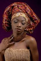 Alug kente African ready to wear headwrap (ESSINGAN) - $22.04