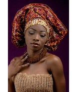 Alug kente African ready to wear headwrap (ESSINGAN) - $22.04