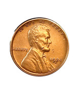 1924 S Lincoln Wheat Cent - Choice BU / MS / UNC - £131.33 GBP