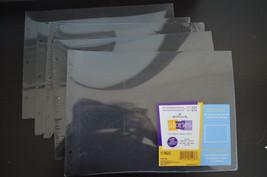 Hallmark Stories Scrapbook Pages Medium Horizontal 3-Ring Photo Album 60... - $12.19
