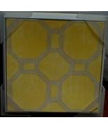 Target Garden Wall Art - Yellow/Grey - Garden Tile VI - BRAND NEW, VIVID... - $19.79