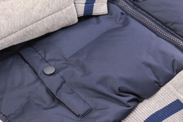 Men's Hybrid Puffer Lightweight Utility Insulated Hooded Quilted Zipper Jacket image 7