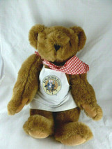 "Vermont Teddy Bear plush in King Arthur Flour Chef's Apron and scarf 16""... - $29.69"
