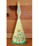 Asian Perfume Bottle Vintage Hand painted Bovine bone Brooklyn Museum of... - $296.01