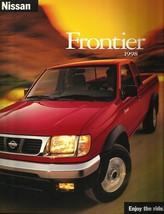 1998 Nissan FRONTIER sales brochure catalog US 98 XE SE - $6.00