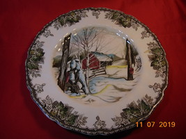 "10 1/2"", Dinner Plate, Johnson Bros., Friendly Village Pattern. Sugar Maple  - $14.99"