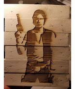 Han solo custom wood sign - £18.35 GBP