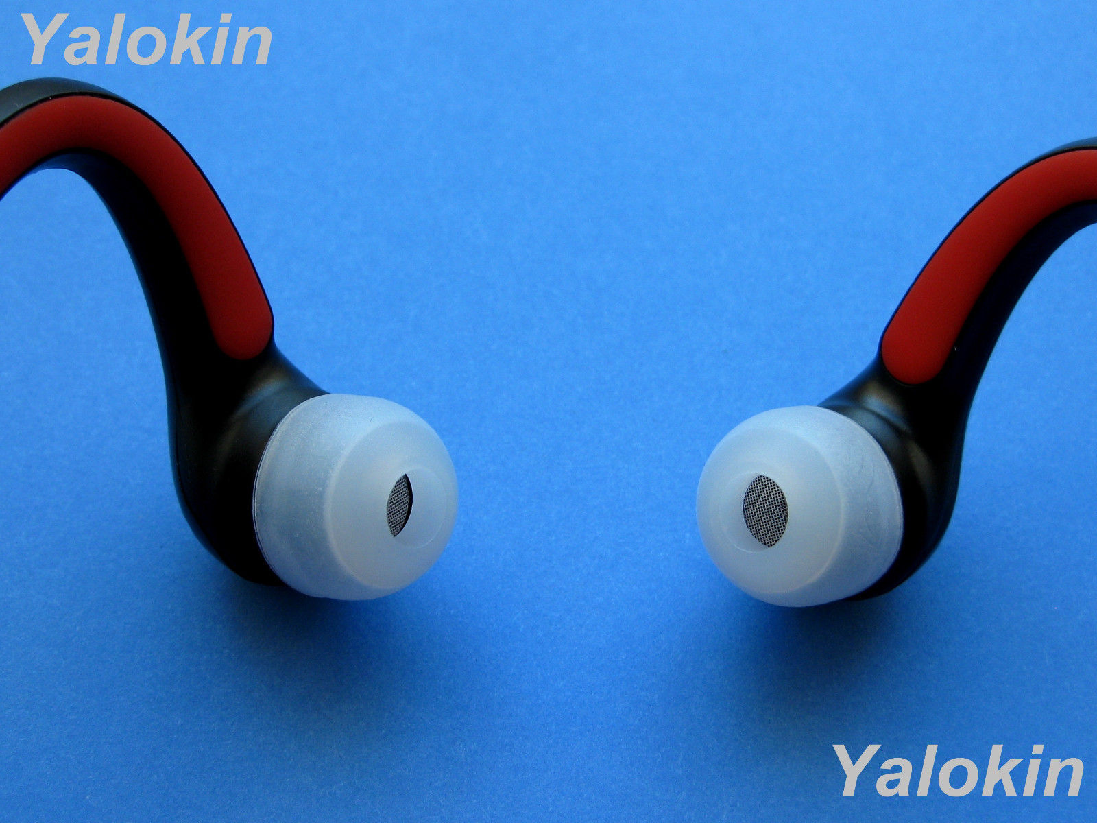 8 CL Large Replacement Ear Tips Buds for Motorola S10-HD Bluetooth Headphones