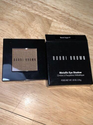 New Bobbi Brown Metallic Eyeshadow BURNT SUGAR 9 Full Size Brand New In Box - $19.79