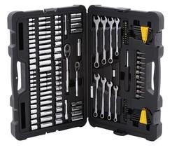 "Stanley STMT71653 145-Piece Mechanic Socket Set 1/4"" & 3/8"" Drive SAE an... - $71.89"