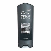 Dove Men+Care Elements Body Wash Charcoal+Clay 18 oz Effectively Washes ... - $7.24