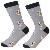Pit Bull Dog Socks Fun Novelty Dress Casual Unisex SOX Sock Daddy Pitbul... - $11.99