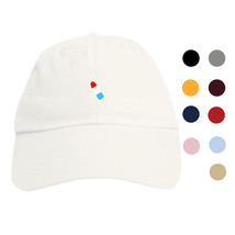 Ice Cream Dad Hat - Curved Baseball Cap Popsicle Ice Pop Cute Emoji Stra... - ₨898.43 INR