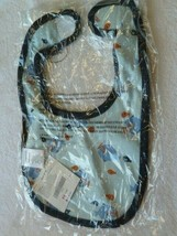 Gymboree Swim School Baby Newborn Boy Bib Blue Fish Orange 0-3-6-9-12 NEW - $14.84