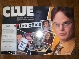 RaRe OOP! * CLUE: THE OFFICE Edition * NBC Board Game 2009 HASBRO! HTF Toy  - $272.25