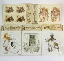 5 Vintage Holly Hobbie Prints for decoupage, crafts, framing. 1968, 6 x ... - $9.89