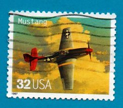 Scott #3142a - United States Collectible Postage Stamp - P-51 Mustang - $1.99