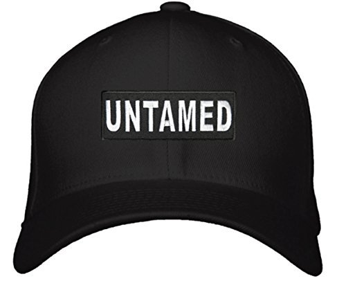 Untamed Hat - Adjustable Mens Black/White