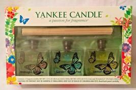 Yankee Candle Fragrance Reed Diffuser 1.3 oz x 3 Jasmine-Lavender-Sweet ... - $38.60