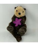 "Wild Republic Plush 15"" Sea Otter W Purple Starfish Soft Stuffed Animal Toy - $12.99"