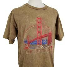 Vintage Golden Gate Bridge San Francisco T-Shirt 2XL Crew Single Stitch ... - $29.99