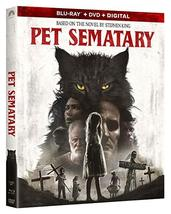 Pet Sematary 2019 [Blu-ray + DVD + Digital]