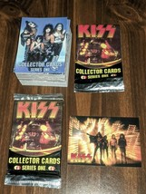 Kiss Series 1 Trading Cards Set With Wrapper Sealed Pack And Promo Card ... - $14.95