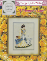Cross Stitch Pattern Leaflet-Forget Me Nots-A Mother's Love-Pullen - $7.66